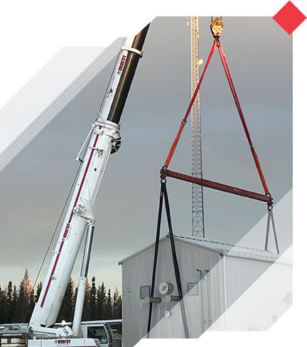 Energy Crane Service performing a lift