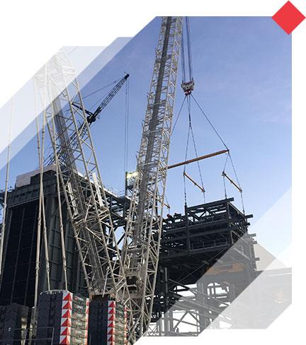Crane service provided by Energy Crane
