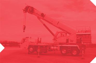 truck-mount crane